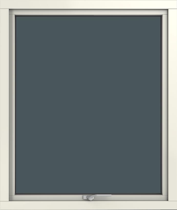 Vridfönster trä/alu insida