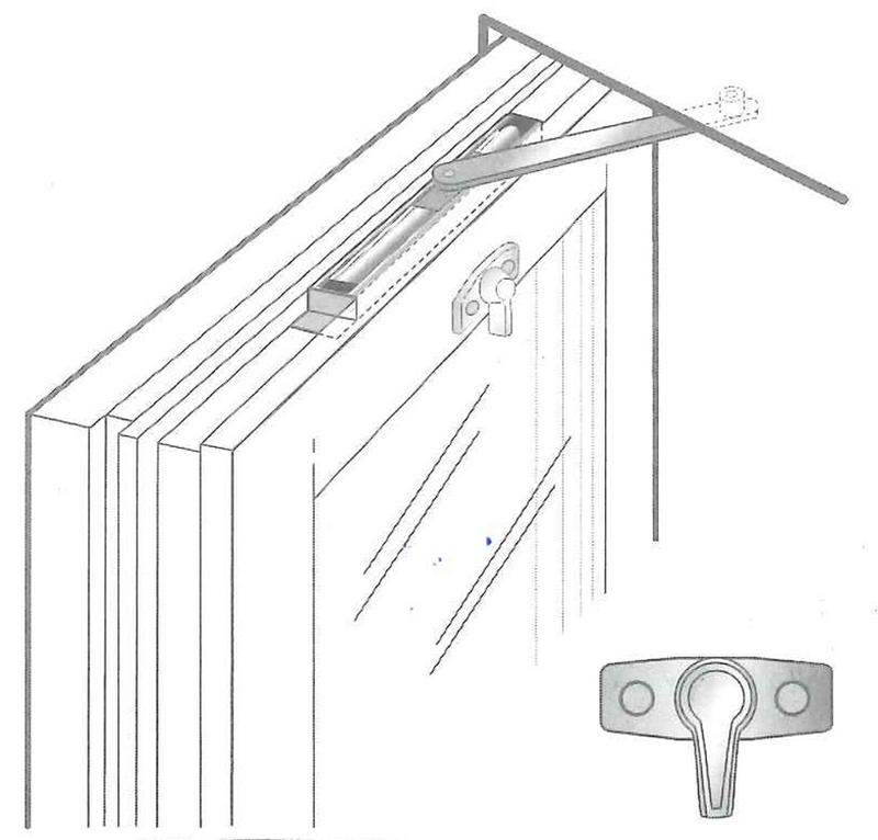 Dörr- / fönsterbroms