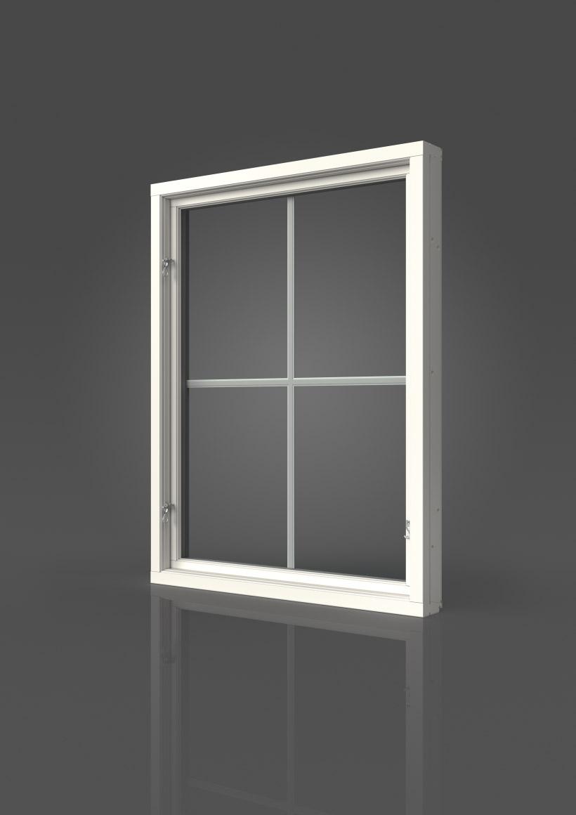 Elitfönster Retro Sidhängt fönster
