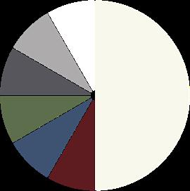 2-Färg med en sida vit