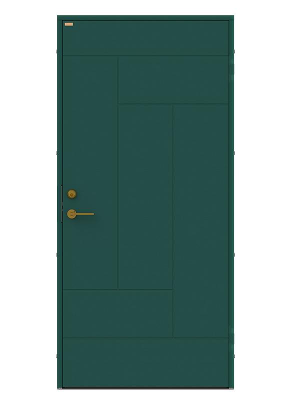 Diplomat x Minimarket Ytterdörr Tallvägen Grön
