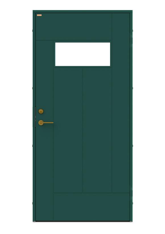 Diplomat x Minimarket Ytterdörr Barrstigen Grön