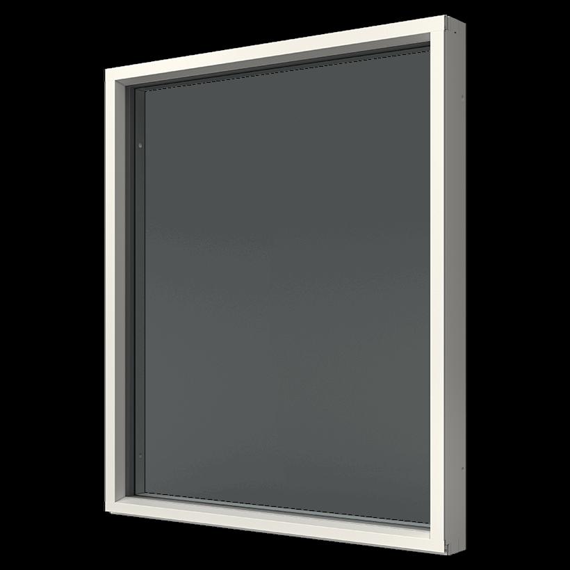 Elitfönster Original Alu Fast karm-fönster