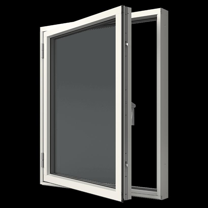 Elitfönster Original Alu Sidhängt fönster