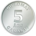 Diplomat - Garanti 5 år