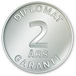 Diplomat - Garanti 2 år