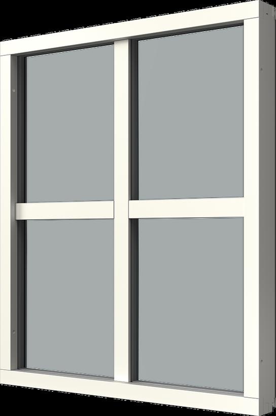 Fast karm med aluminiumbeklädnad, Insida