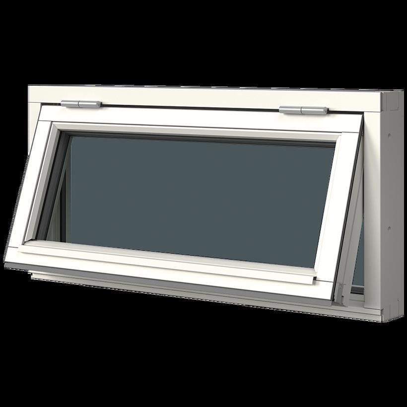 Elitfönster Original Trä Överkantshängt fönster