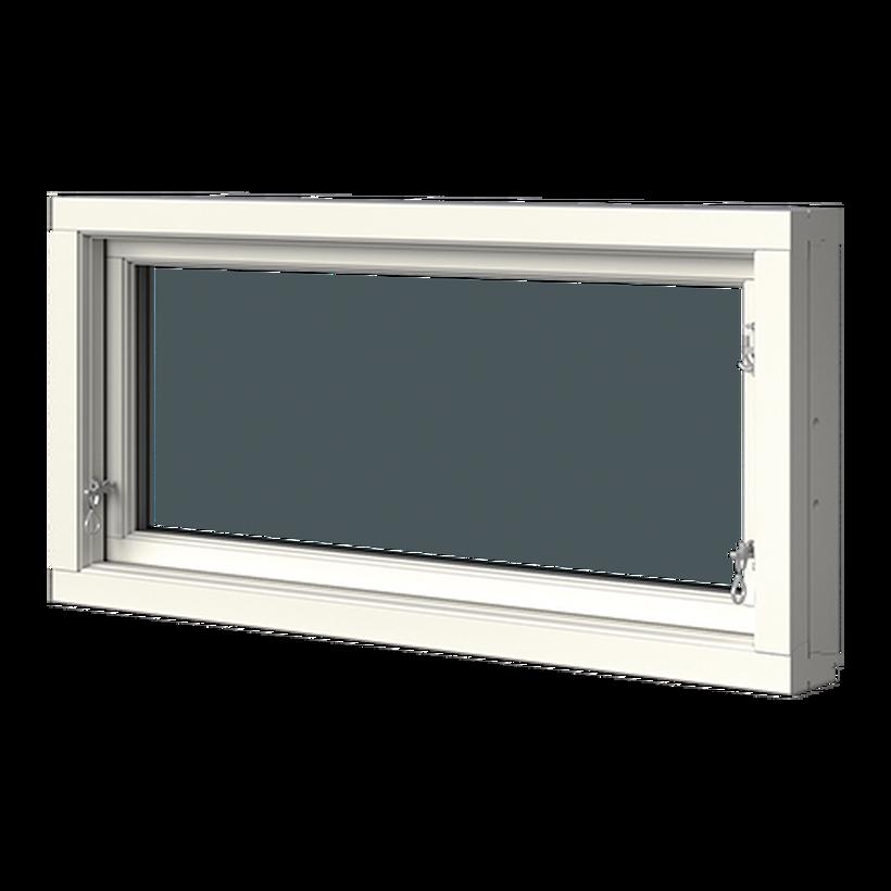 Överkantshängt i trä, 2-glas, Insida, Stängt