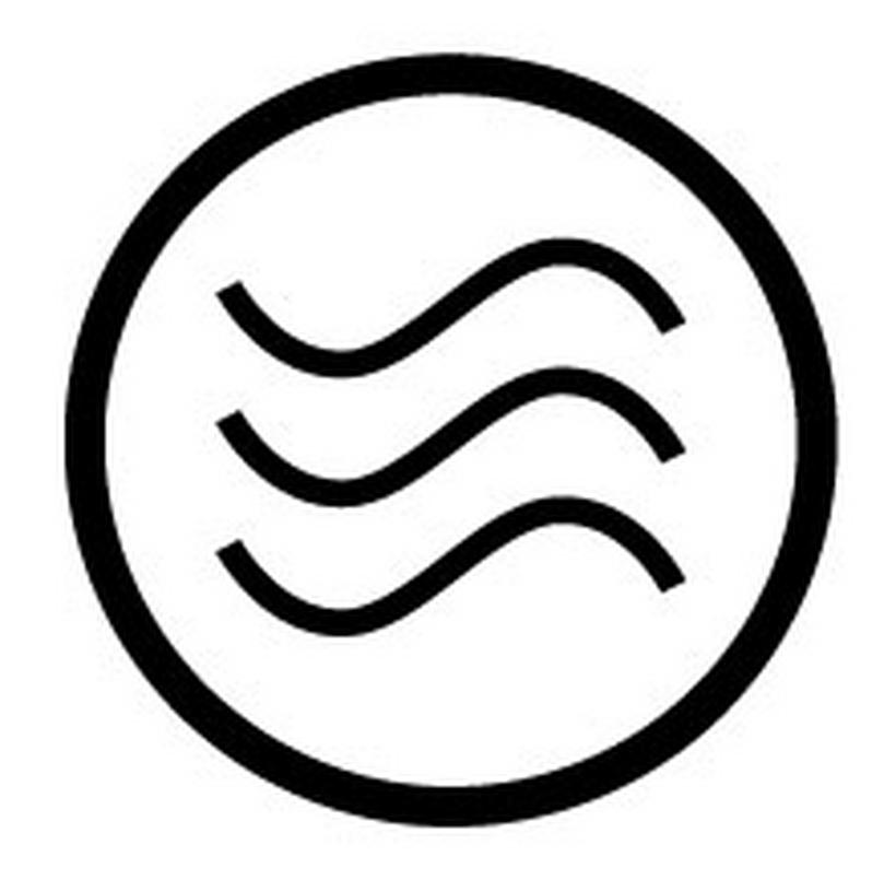 Symbol Kondensminskande