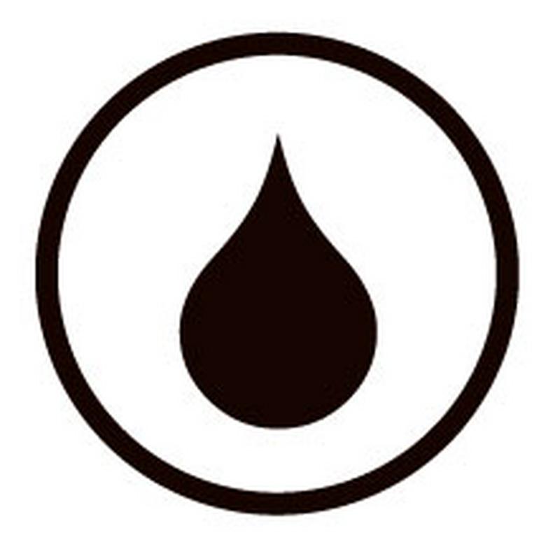 Symbol Smutsavvisande