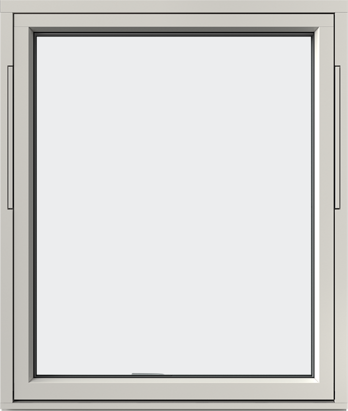 Vridfönster trä/alu, utsida