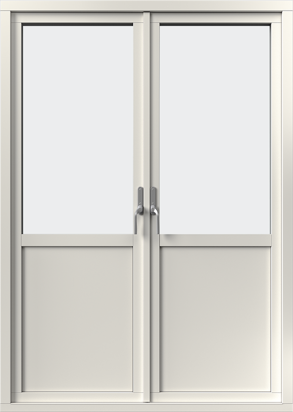 Aluminiumbeklädd AD M0-1 Utsida Öppen
